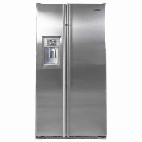 Refrigerador Mabe 666 lt 24 pie3 Acero Inoxidable Frío Seco Fábrica automática de hielo