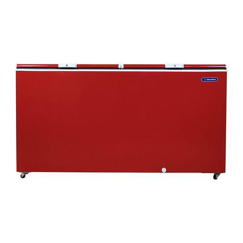 Freezer Metalfrio 550 lt 19 pie3 Rojo Enfría o congela 2 puertas